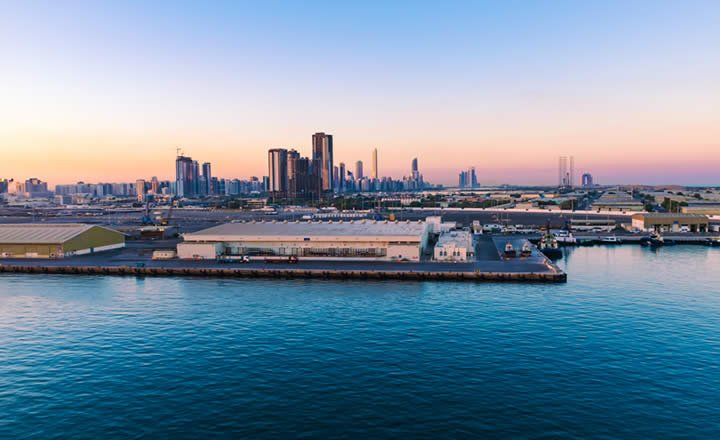 Abu Dhabi Port and City Centre