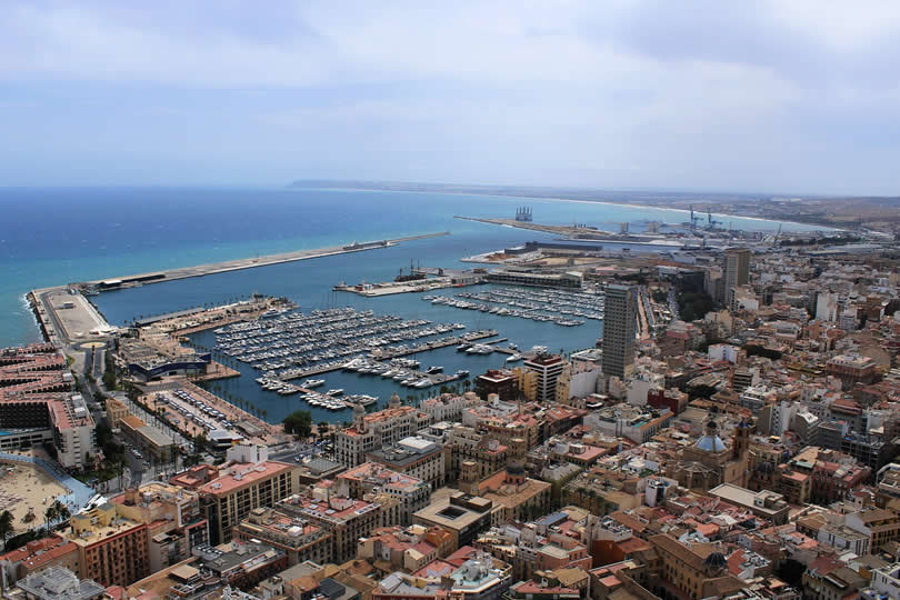 Port of Alicante Spain