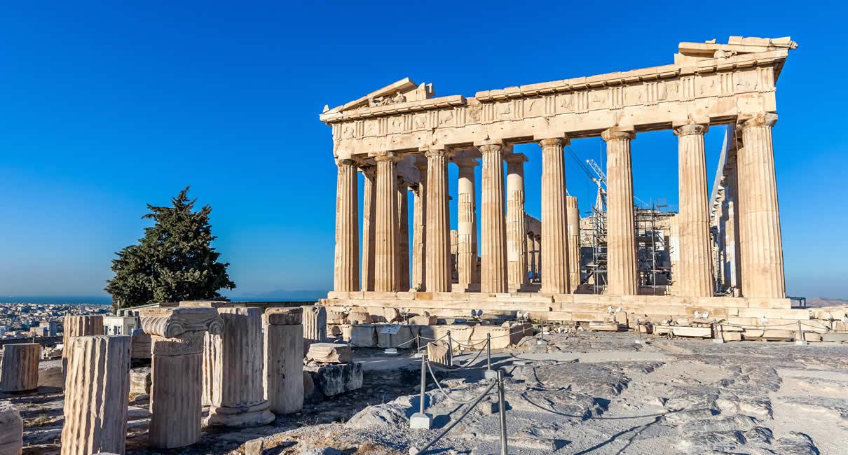 Athens Parthenon in Greece