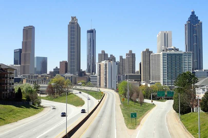 Atlanta Georgia downtown skyline