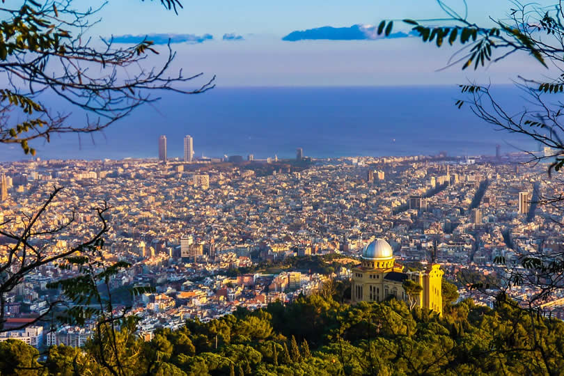Barcelona at beginning of Fall