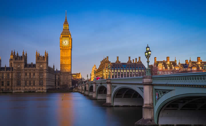 Big Ben in Evening