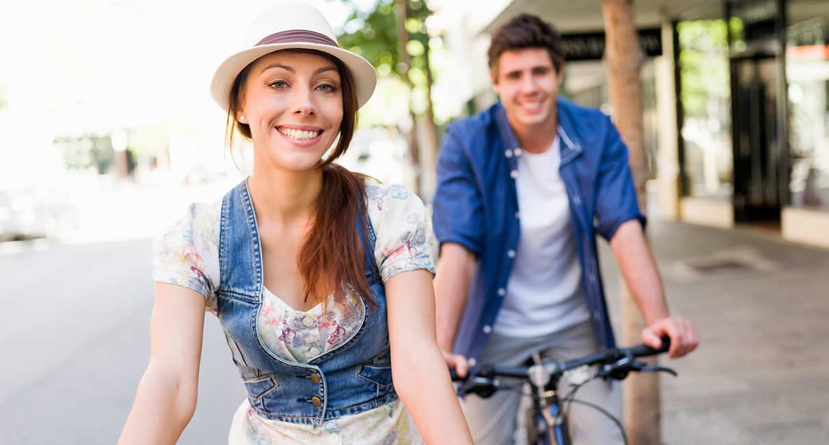 Bike tour in Europe
