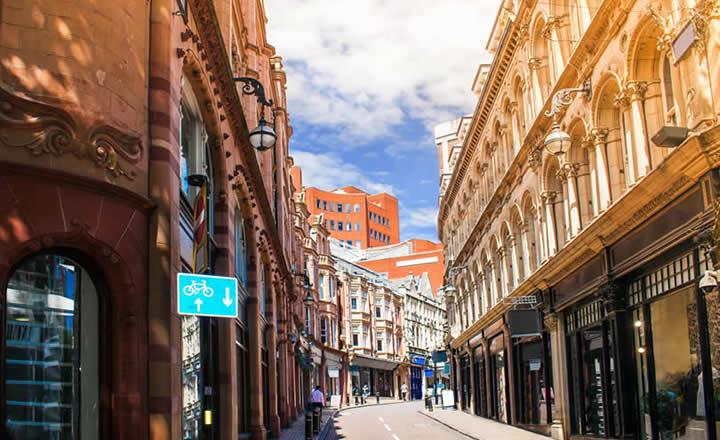 Birmingham Shopping Street