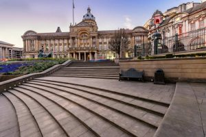 Birmingham England main square