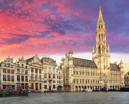 Grand Place square in Brussels Belgium
