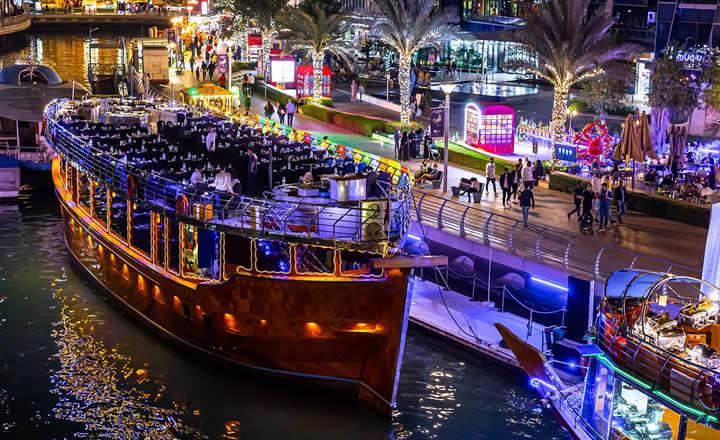 Dubai Marina Dining Cruise