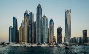 Dubai Marina during the day