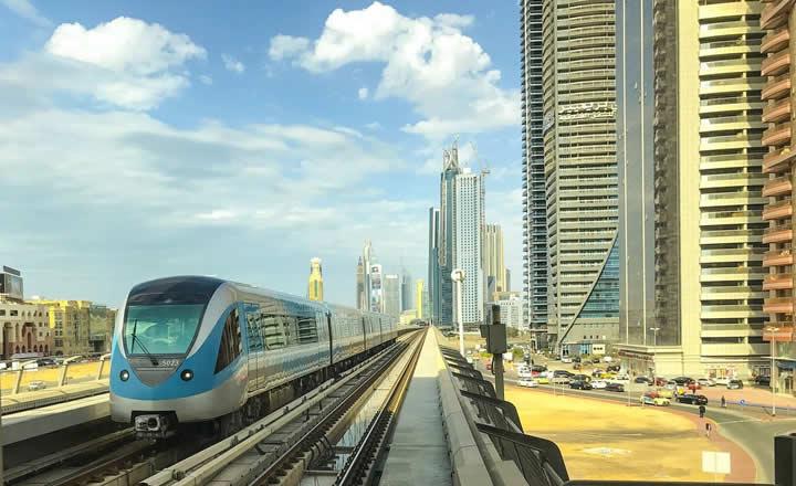 Dubai Train Network