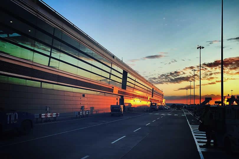 Dublin Ireland airport terminal