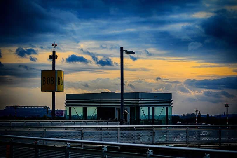 Dusseldorf Airport in Germany