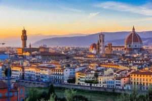 Florence or Firenze Cathedral in Italy