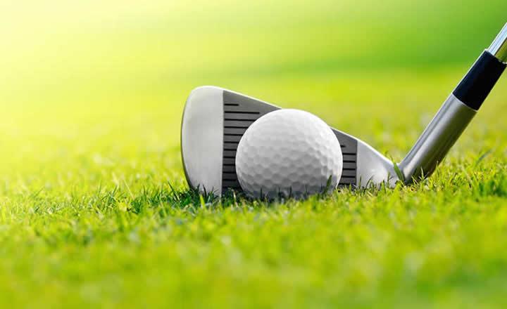Golf Club on Green