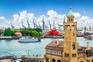 Hamburg Port in Germany