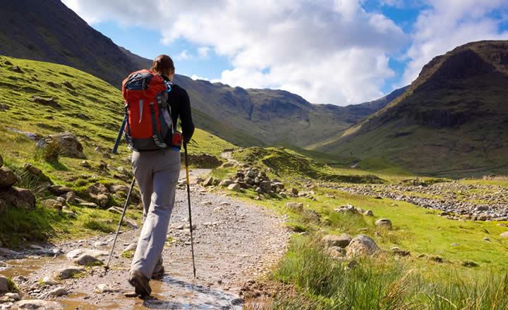 Hiking in Peak District England
