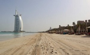 Jumeirah Beach and Burj Al Arab