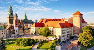 Krakow Poland Wawel Castle and Cathedral