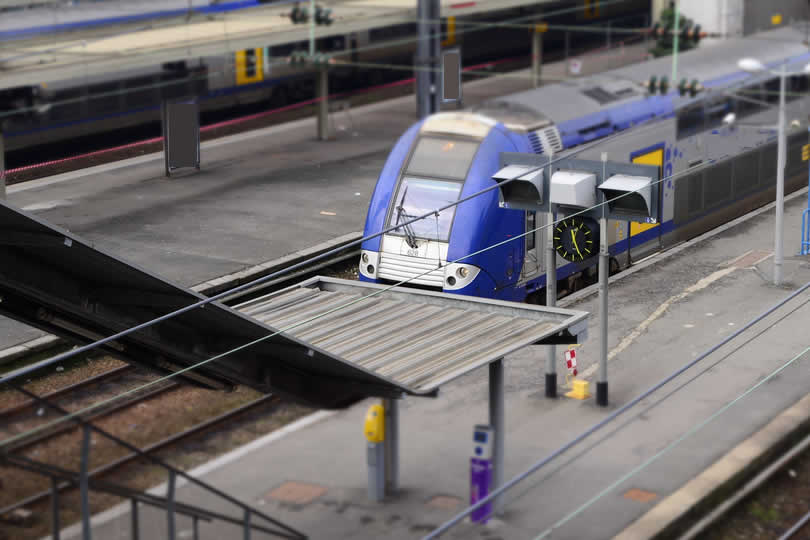 Lille Europe TGV train station