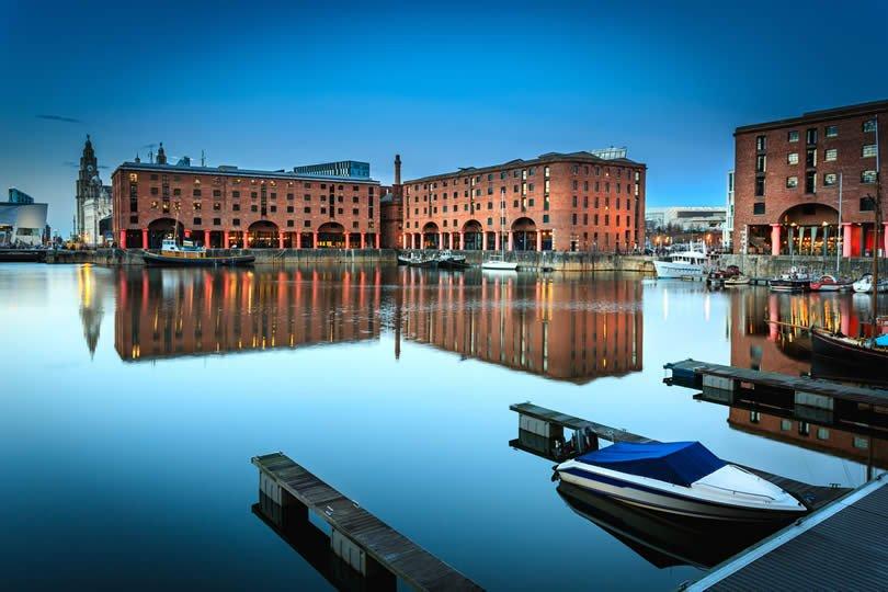 Liverpool Albert Dock start line