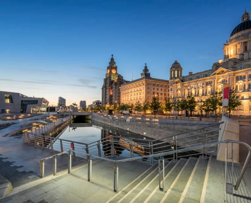 Liverpool Three Graces Waterfront