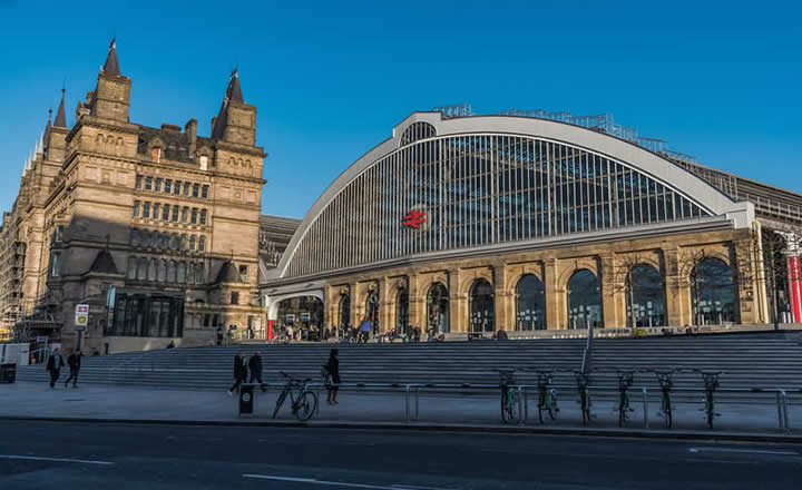 Liverpool Lime Street Railway Station