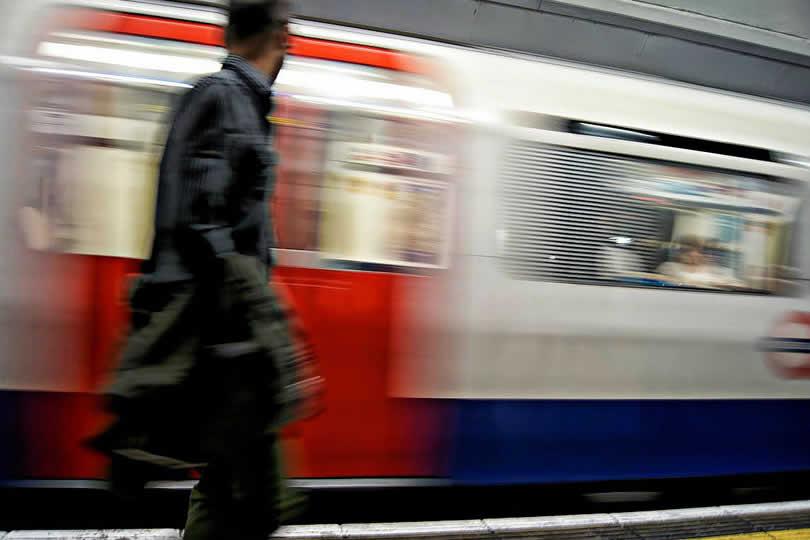 Underground of London Victoria station