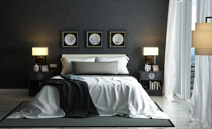 Luxury 5 star hotel room