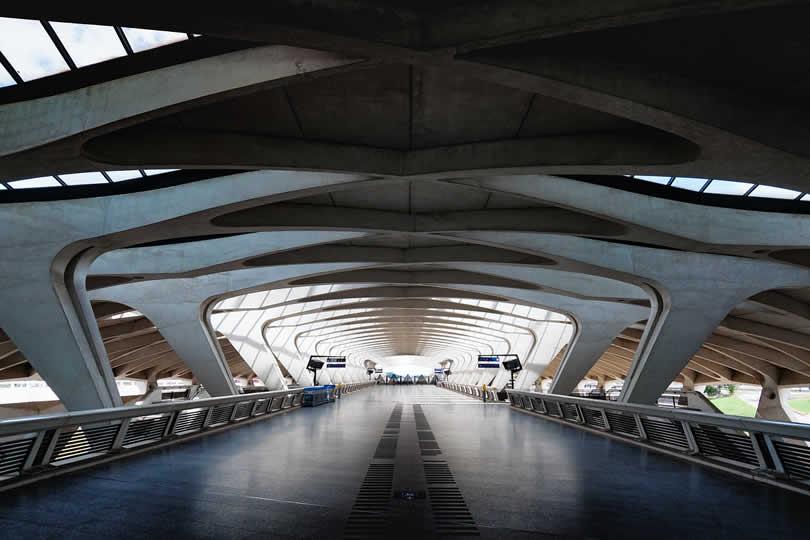 Lyon Airport Terminal