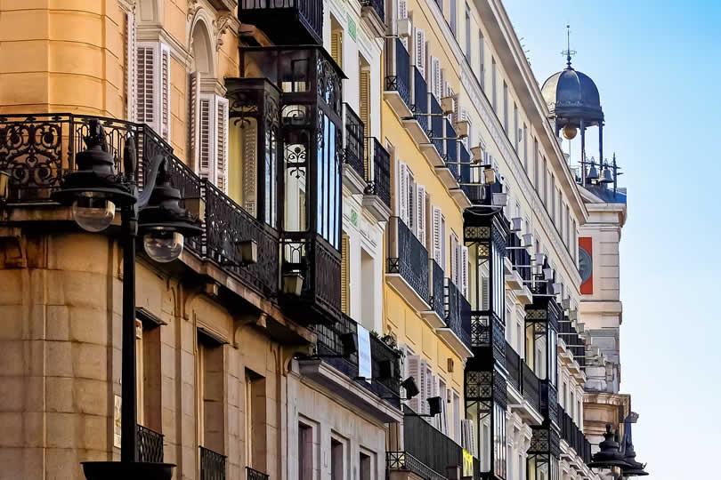 Madrid apartment buildings