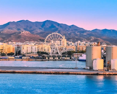 Malaga City Centre and Port