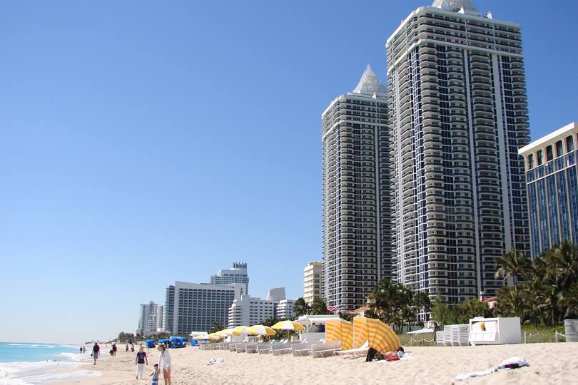 Miami Beach in Florida