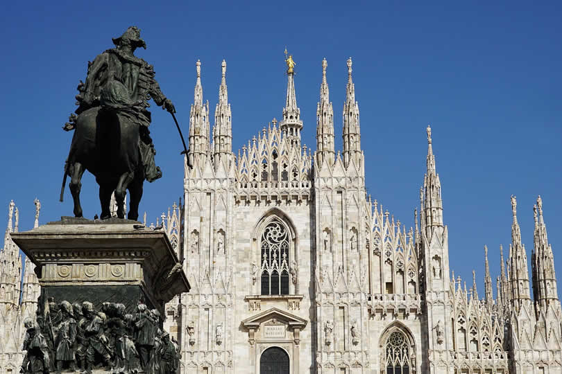Milan Duomo Cathedral in Italy