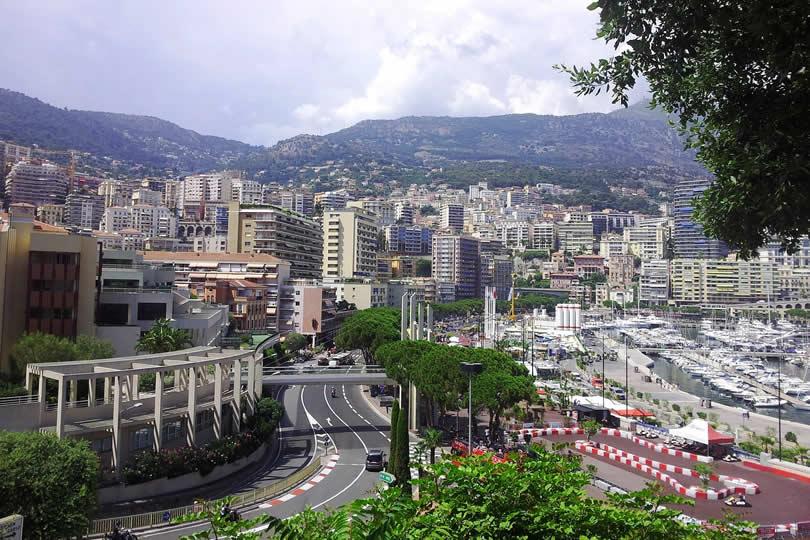 Monaco Grand Prix race track