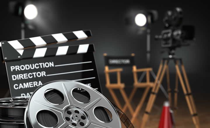 Movie or film set