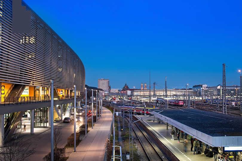 Munich central train station