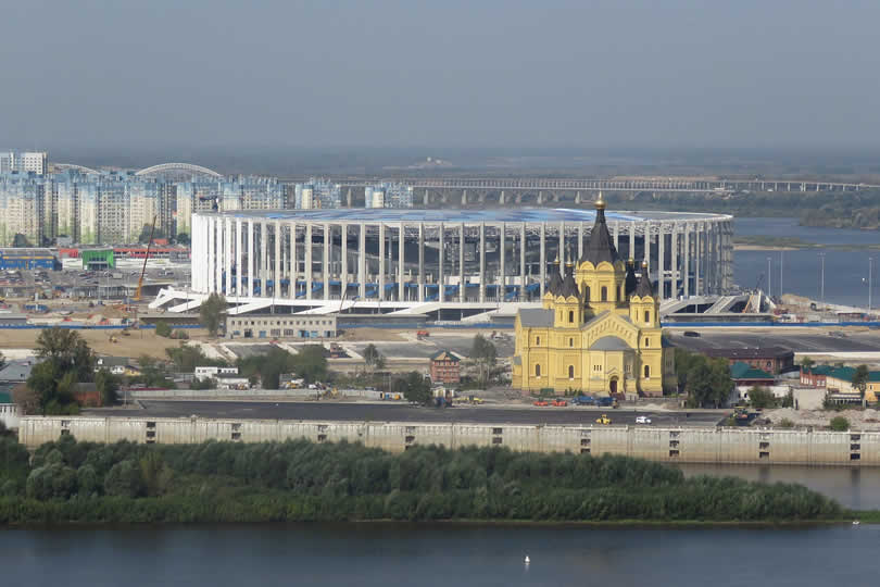 Nizhniy Novgorod football stadium