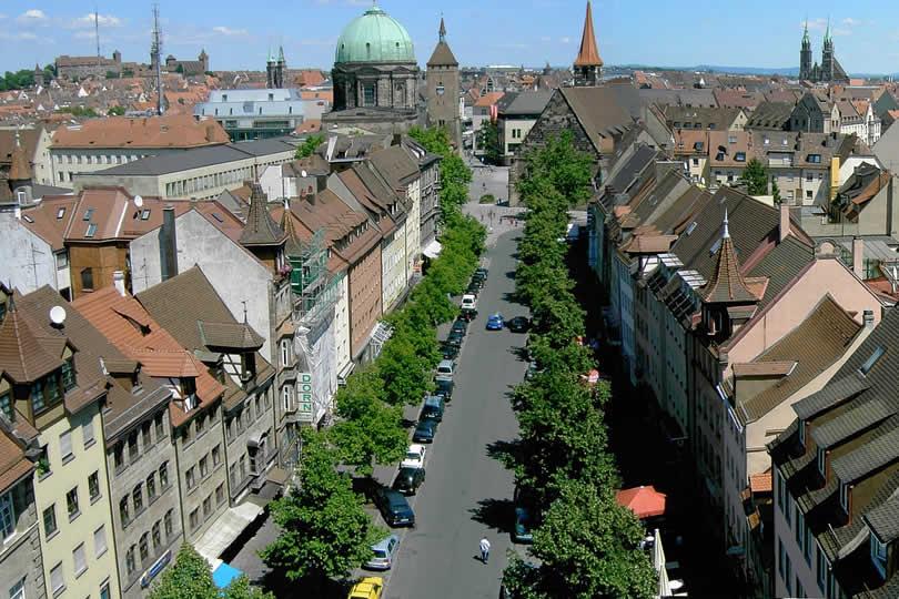 Nurnberg city centre