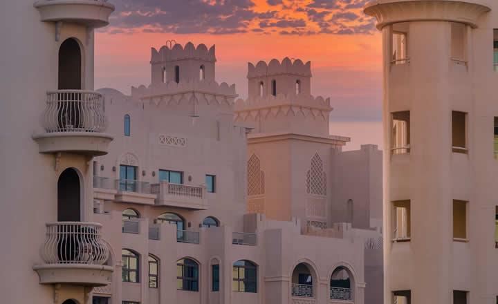 Old Dubai sunset