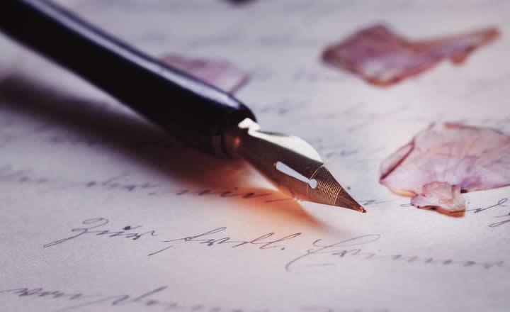 Old pen