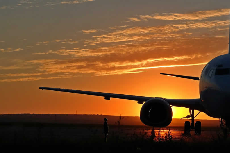 Plane at Paris Beauvais airport
