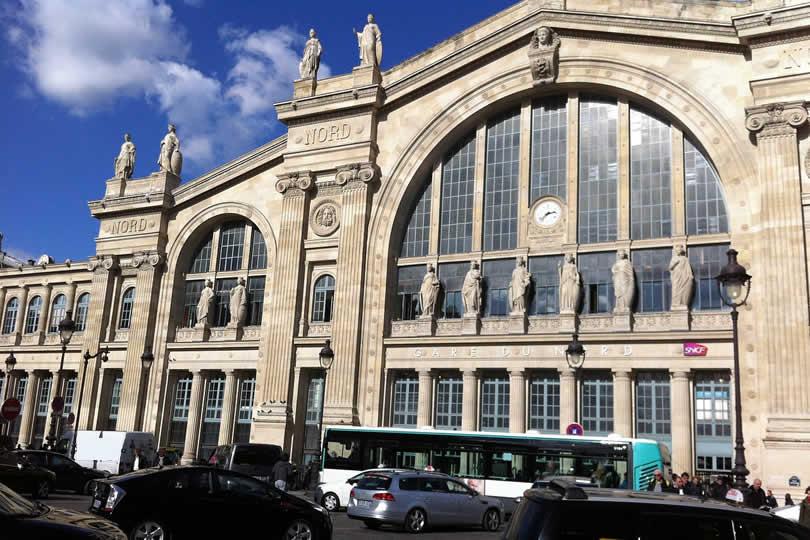 Paris Gare du Nord station entrance