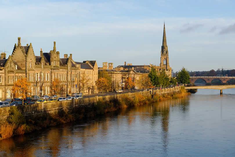 Perth in Scotland