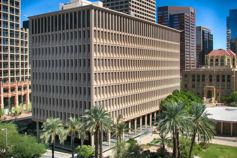 Downtown Phoenix in Arizona