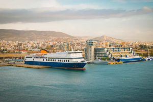 Piraeus ferry and cruise port