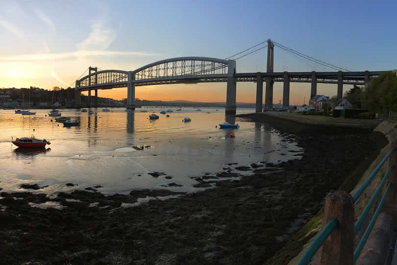 Plymouth Tamar bridge