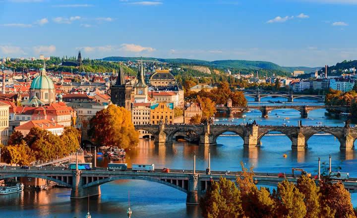 Prague in Autumn Colors