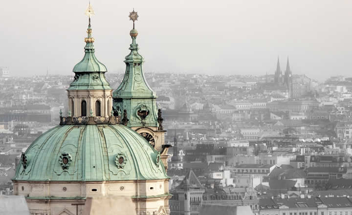 Prague Fog in March