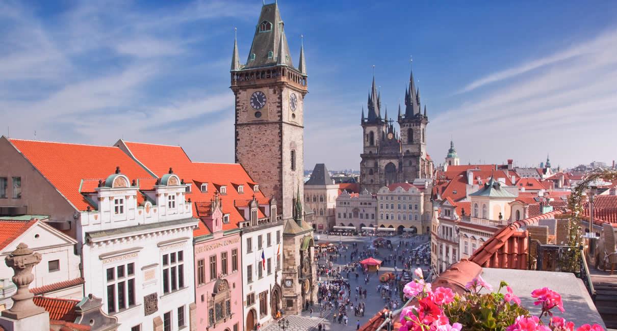 Prague Staroměstské náměstí main square