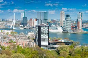 Cruise Port of Rotterdam in Holland