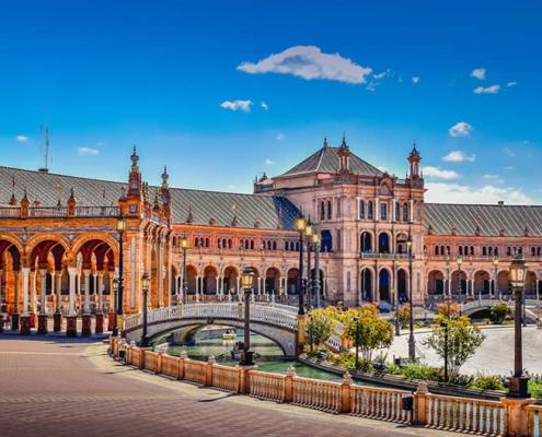 Seville Plaza Espana square